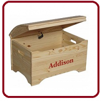 Personalized Toy Boxes