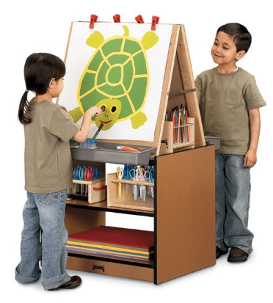 SPROUTZ� 2 Station Easel