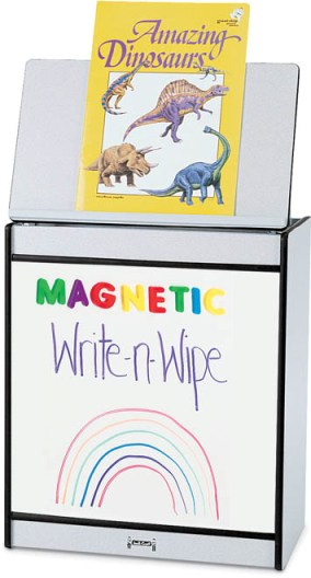 Rainbow Accents Big Book Easel - Magnetic Write-n-Wipe