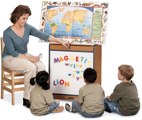 SPROUTZ� Big Book Easel - Write-N-Wipe
