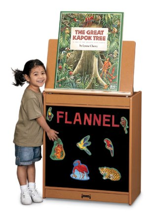 SPROUTZ� Big Book Easel - Flannel