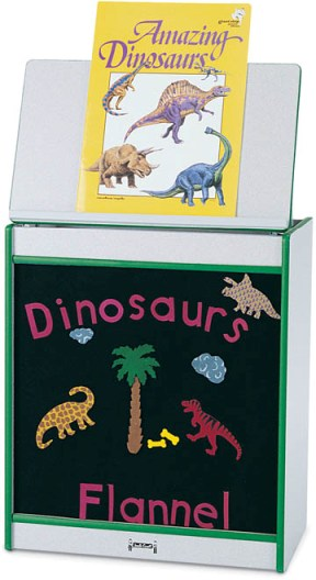 Rainbow Accents Big Book Easel Flannel