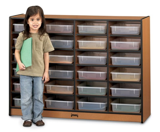 24 Paper-Tray Cubbies