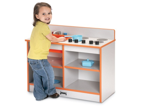 Rainbow Accents 2-In-1 Toddler Kitchen