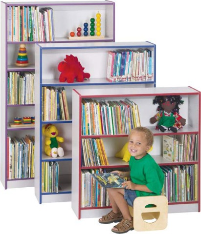 Rainbow Accents Bookcase
