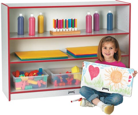 Rainbow Accents Super Size Adjustable Bookcase