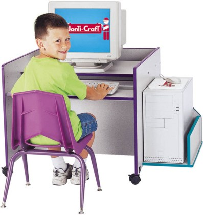 Rainbow Accents KYDZ Computer Desk - Single