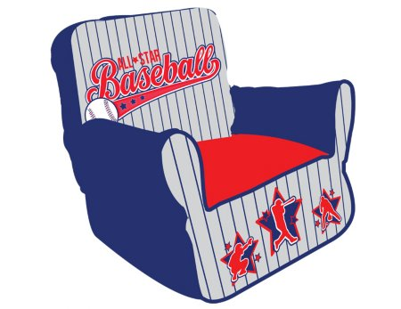 Baseball All Star Bean Chair