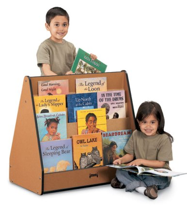 Sproutz Pick-a-Book Stand - Double-Sided