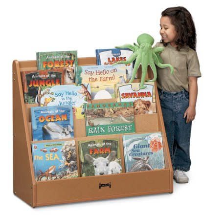 Sproutz Flushback Pick-a-Book Stand - 1 Sided