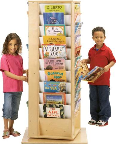 Revolving Literacy Tower - Large