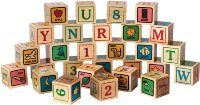 ABC Blocks, Printed - American Made