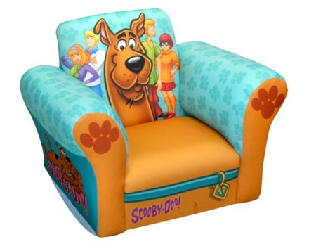 Scooby-Doo Paws Small Standard Rocker