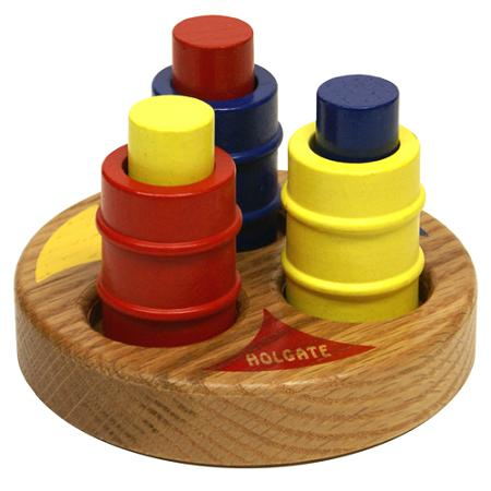 Rub-A-Dub Peg- Wooden Toy Made in the USA