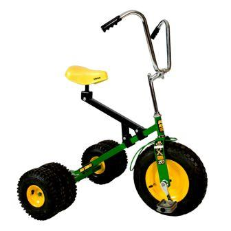 Dirt King Big Kids Green Dually Tricycle