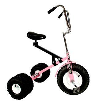 Dirt King Big Kids Pink Dually Tricycle