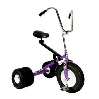 Dirt King Big Kids Purple Dually Tricycle