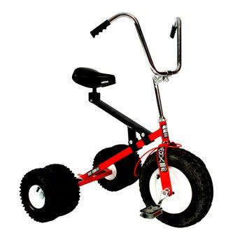 Dirt King Big Kids Red Dually Tricycle