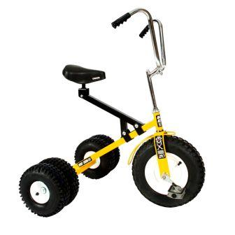 Dirt King Big Kids Yellow Dually Tricycle