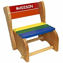Classic Step Stool Chair