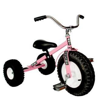 Dirt King Childrens Pink Tricycle