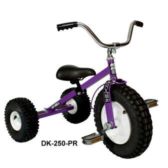Dirt King Childrens Purple Tricycle