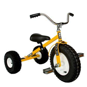 Dirt King Childrens Yellow Tricycle