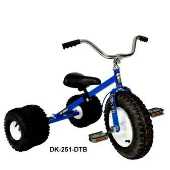 Dirt King Childs Dually Blue Tricycle