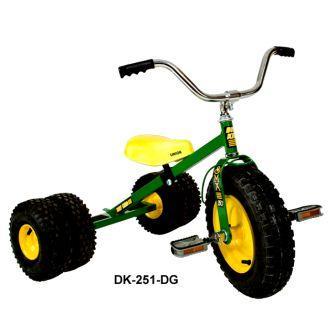 Dirt King Childs Dually Green Tricycle