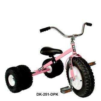 Dirt King Childs Dually Pink Tricycle