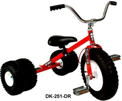 Dirt King Childs Dually Red Tricycle