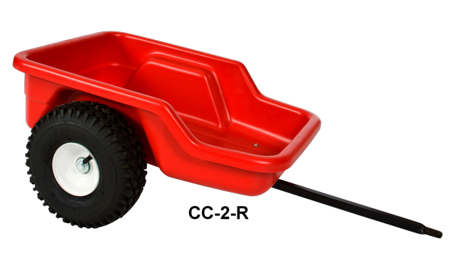 Dirt King Cruiser Cart Red