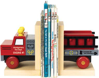 Bookends, Fire Truck