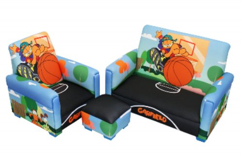 Garfield Sofa Chair and Ottoman