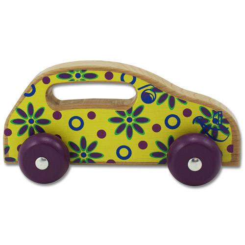 Handeez Yellow Flower Car