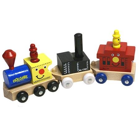 Wooden Holgate Express Train - Wood Caboose Car Made in the USA