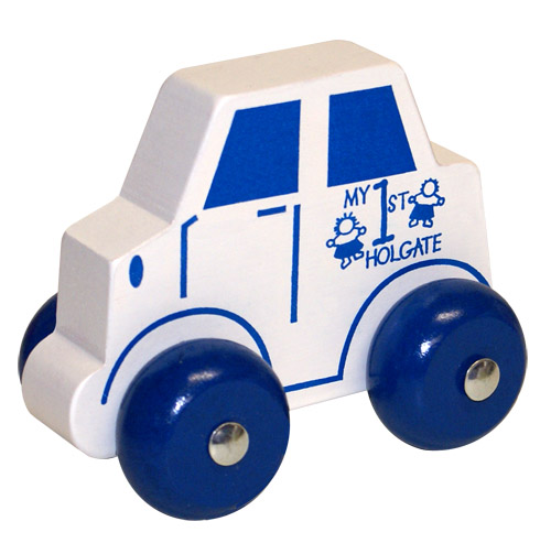 My 1st Wood Holgate Toy (Blue) - Wooden Toy Made in the USA