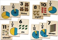 Teach+Play Tiles, Number/Fraction