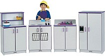 Rainbow Accents Kitchen Set - 4 Piece set