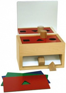 Shape Sorter with Mirror
