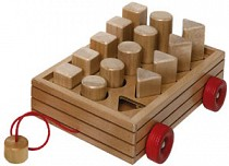Size & Shape Wagon of Blocks