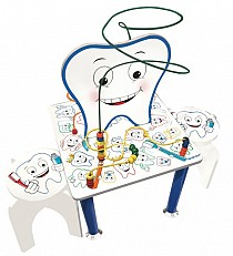 Smiley Tooth Table & Stools