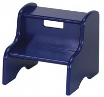 Solid Color Kid's Step Stool - Blue