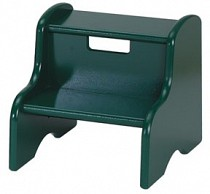 Solid Color Kid's Step Stool - Green