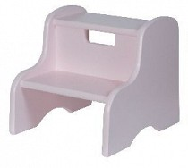 Solid Color Kid's Step Stool - Lavender