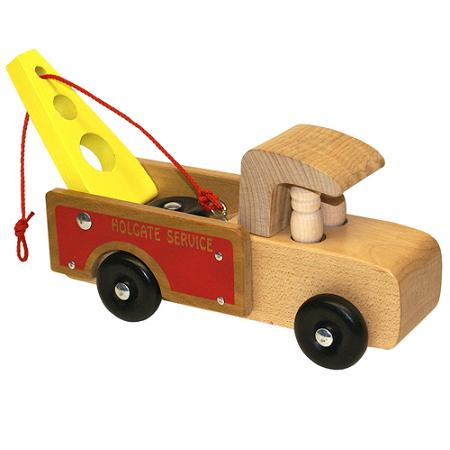 Wooden Tow Truck - Made in the USA