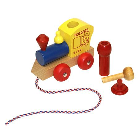 Wooden Toddler�s Train - Made in the USA