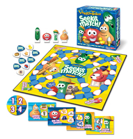Veggie Tales - Seek and Match Board Game
