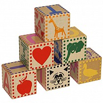 Wood Baby Blocks - Hardwood Made in the USA