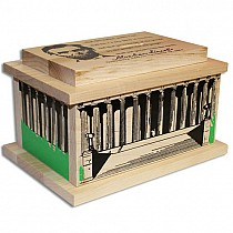 Wood Lincoln Memorial Bank Made in the USA